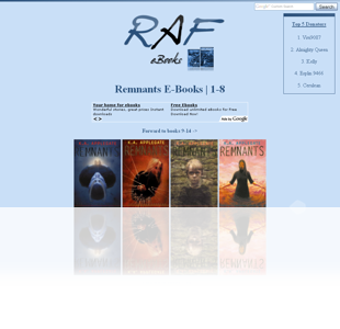 RAF eBooks | Remnants